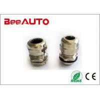 Metalic Brass Electric PG Cable Gland PG9 PG11 PG29 PG36 Silver Color Nickel Plated Manufactures