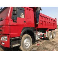 Low Price Used HOWO 10 Wheels Dump Truck Tipper 6X4 with Good Condition for Africa Manufactures