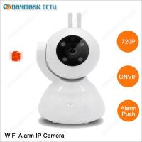 64g sd card 24hours recording pan and tilt wired / wireless indoor ip camera Manufactures