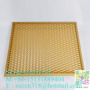expandable sheet metal diamond mesh / 1.22 x 2.44 m expanded metal Manufactures