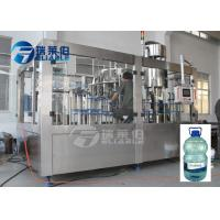 Mineral Drinking Spring Water Bottling Equipment Plastic 5L Bottled Filling Capping Machine Manufactures