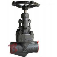 1.5 Inch Industrial Forged Steel Globe Valve Class 800  A105N J11H NPT Threaded Ends Manufactures