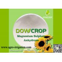 DOWCROP HIGH QUALITY 100% WATER SOLUBLE ANHYDR SULPHATE MAGNESIUM 98.5% WHITE POWDER MICRO NUTRIENTS FERTILIZER Manufactures