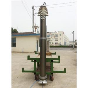 12m lighting mast-heavy duty lockable pneumatic telescopic lighting masts, emergency light Manufactures