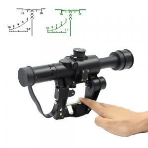 Hunting Optical Sight Rifle Scope , Black Sniper Scope AK 4X26 SVD Manufactures