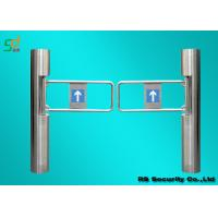 Stainless Steel Turnstile Security Systems, Supermarket Swing Barrier Gate Manufactures