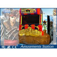 Shooting Game Simulator / Aliens Target Shooting Arcade Machines For Kids Manufactures
