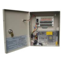 Buy cheap 12V DC 5A 9 Channel CCTV Power Supplies , Surveillance Cameras Power Supply Box from wholesalers