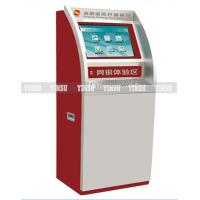 Info Kiosk ATM Cash Machine 17 Inch Touch Monitor For Power Station , Tax Department Manufactures