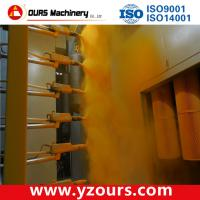 Automatic powder coating line for metal products with competitive price
