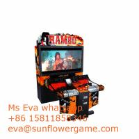 Buy cheap 55INCH EXCITING RAMBO COIN OPERATED SIMULATOR SHOOTING ELECTRONIC ARCADE GAME from wholesalers