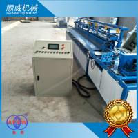 380V Chain Link Fence Weaving Machine / Weaving Breadth 0.5m - 4.2m Manufactures
