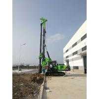 TYSIM KR125A 43m Depth Rotary Drilling Rig Foundation Piles Equipment With Friction Kelly Bar Manufactures