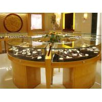 modern style wooden glass jewellery showcase design for jewellery window display Manufactures