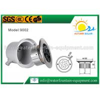 High Power Buried Ground LED Garden Light , RGB LED Inground Light IP68 Manufactures
