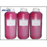 Epson Eco Solvent Ink For Dx5 Dx6 Dx7 / Artificial Leather Printing Manufactures