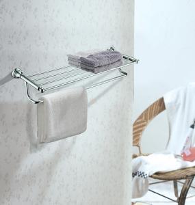 Quality High Quality Brass Bathroom Accessory Towel Rack Mounting Hardware Towel Shelf for sale