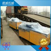 PVC wire Manual Chain Link Fence Machine Weaving Opening 40mm - 260mm Manufactures