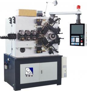 50HZ Compression Spring Machine , Industrial Spring Making EquipmentFor Diameter 2.5 - 6.0mm Manufactures