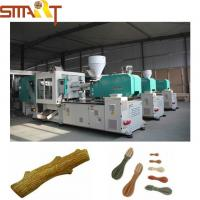 Simens Motor Injection Molding Pet Treat Machine With 220V / 380V Voltage Manufactures