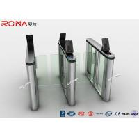 Acrylic Swing Access Control Turnstiles Face Recognition For Business Building Manufactures