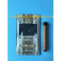 Manufacturers custom-made sales gold printing cigar packaging moisturizing zipper bag Manufactures