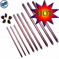 Supply Copper Ground Rods/Grounding Rods Manufactures
