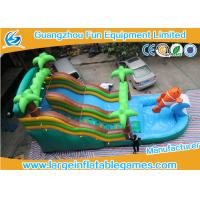 Sharks Commercial Inflatable Slide Customized Size Inflatable Water Slides