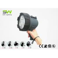 Cree Battery Operated Handheld Spotlight , Waterproof Spotlight AC Charger Manufactures