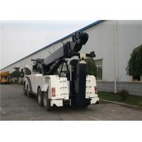 KaiFan Heavy Duty VOLVO Chassis Road Wrecker Truck 8x4 Drive 99 Km/H Manufactures