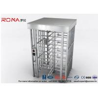 High Safety Pedestrian Turnstile Security Systems Semi-Auto Mechanism Housing With CE Approved Indoor and Outdoor Manufactures