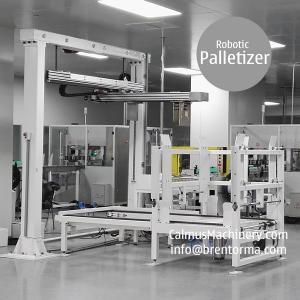 China Carton Stacking System Box Palletizing Machine Robotic Palletizer on sale