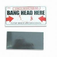 Fridge Magnets, Suitable Car, Promotional and Gifts Purposes, Eco-friendly Manufactures