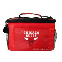 Insulated Snack / Wine Cooler Bag Carry Bag 600D polyester + EPE coated with Aluminum Foil Manufactures