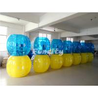 Durable Yellow Blue TPU Sumo Ball Sports Type For Kids / Adult Manufactures