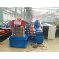 W Profile Gearbox Control Fast Way Gardrail Roll Forming Machine With Auto Cutting For 3.5mm Thickness HR Sheet Manufactures