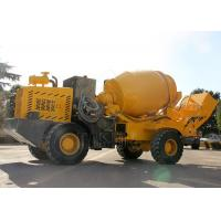 Hydraulic Pump Self Loading Ready Mix Concrete Truck For Rural Construction Manufactures