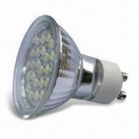 GU10 LED Bulb with Pure Light Emission and Long Lifespan, OEM and ODM Orders are Welcome Manufactures