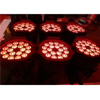 High-Bright 18 Pcs 10W Led Par Light 5in1 RGBWA with 2 Years Warranty Manufactures
