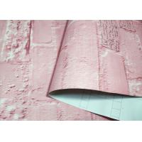 China Commercial Brick Decal Wallpaper Multi Color Brick Temporary Wallpaper on sale