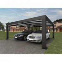Intelligent Garage Parking Shed / LED Solar Garage Automatic Carport Garden Door 5.52 x 3.52 x 2.4 m390 kg Manufactures