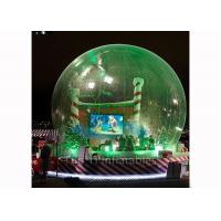 Clear Christmas Bubble Tent Night Inflatables Snow Globes for Decoration Manufactures