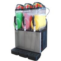 Plastic Two-Tank Stainless Steel Slush Machine XC224 For Snack Food Bar