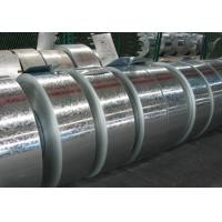 Regular or Big spangle ASTM A653 Hot Dipped Galvanized Steel Strip With Passivated, Oiled Manufactures