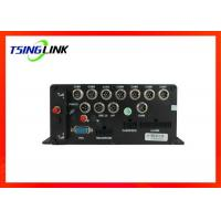 8 Channel 1080p Vehicle Mobile Dvr Wireless Wide Voltage With Gps Tracking Manufactures
