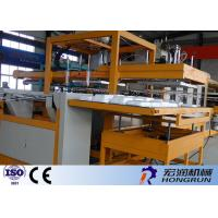 Rolling Ps Foam Sheet Making Machine Double Screw For Containers HR-70/90 Manufactures