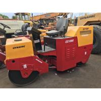 Used Dynapac Road Roller Cc1000  Speed 9km / Hour With Flexible Working Skills Manufactures