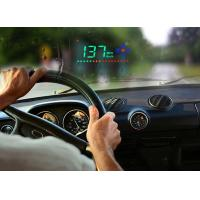 3.5 Inch A2 Mini Heads Up Car Display Speed KM MPH Compass Brightness Adjustable Manufactures