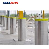 Buy cheap reflective road barrier stainless steel warning bollard ss304 fixed bollard from wholesalers