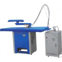Quality Electric Garment Ironing Table With Steam Generator Hotel Laundry Machines for sale